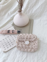 HANDMADE KNITTED BAG in NUDE BIEGE (4435839352907)