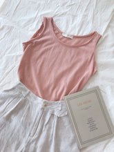 KOREAN SLEEVELESS TANK TOP