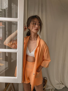 DE MELY ORANGE SET OUTER + PANTS (4382653546571)
