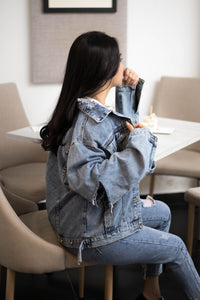 OH OVERSIZED DENIM OUTER ( )