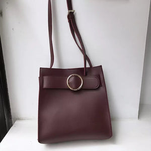 Heather Buckle Bag
