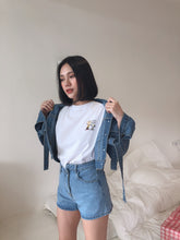 CROPPED DAILY DENIM CROP OUTER