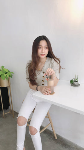 UQMADE KOREAN TIA BLOUSE