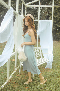 ERON KNIT DRESS BABY BLUE (1815596859427)