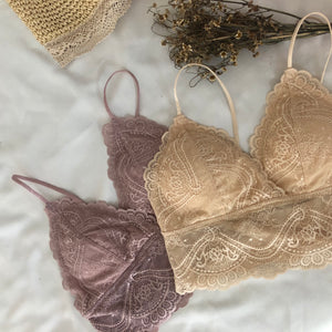 ROMER BRALETTE -PINK/NUDE *READY STOCK*