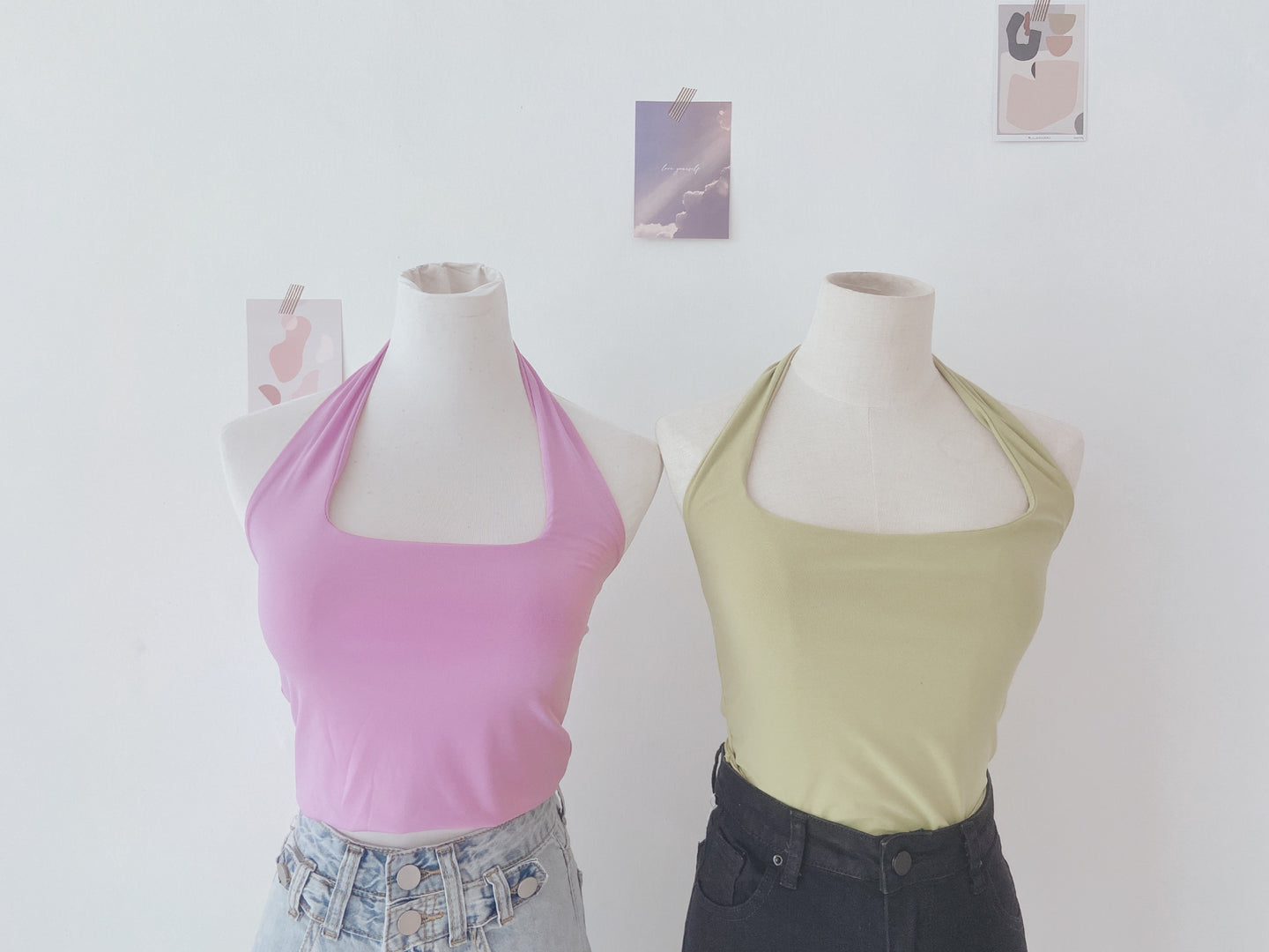 HALTER BASIC TOP