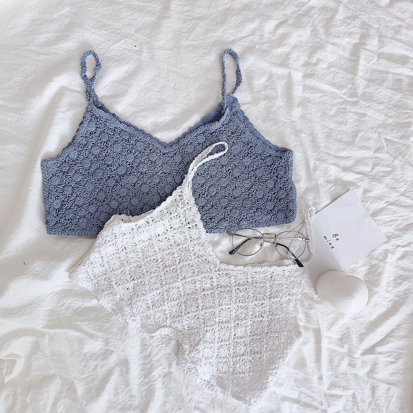 BAILEY KNITTED CROP TOP