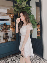 GYNI OFF SHOULDER DOT DREAMY DRESS