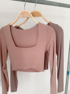 NIE BASIC TOP NUDE *8TH BATCH READYSTOCK*