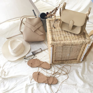 DIA BELT BEIGE BAG