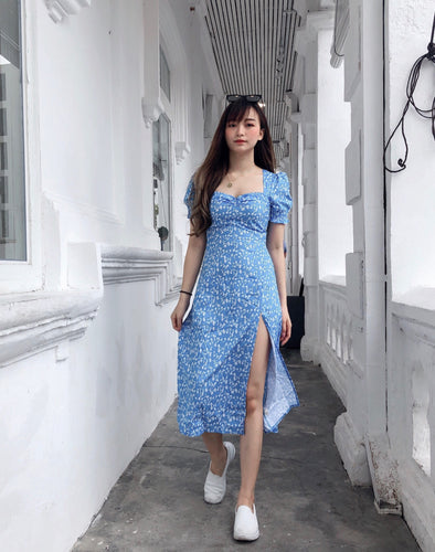 NYM BLUE FLORAL DRESS