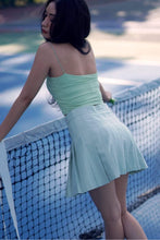 TENNIS PLEATED SKORT-GREEN