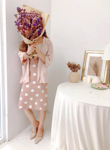 BEIGE CHIFFON OUTER