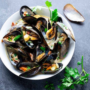 1kg Mussels