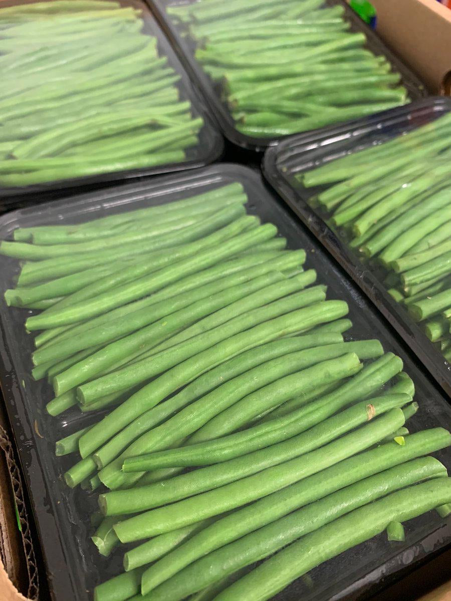 Fine beans (pre-packed)