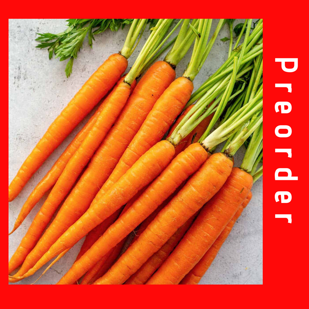 Carrots (Xmas week delivery only)