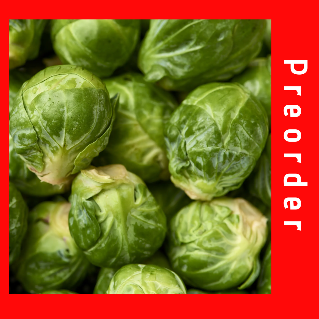 Brussels Sprouts (Xmas week delivery only)