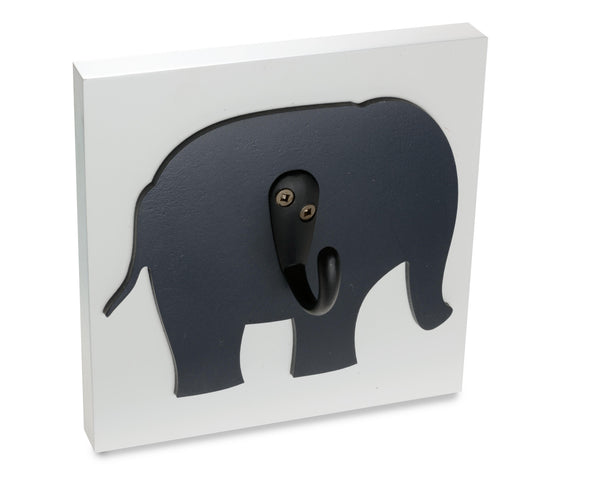 Homeworks Etc Elephant Nursery Wall Hook Unisex Room