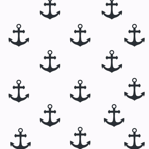 Anchor Pattern Wall Decal | Homeworks Etc
