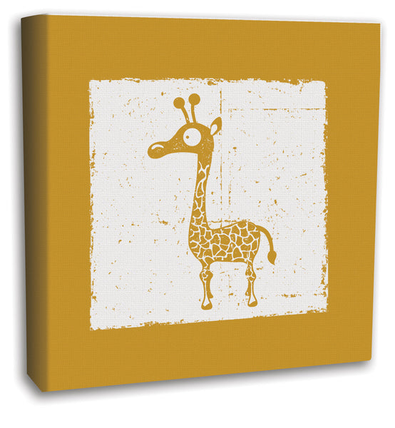 Giraffe Canvas Art, nursery and kids art prints