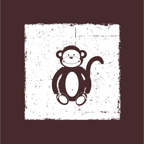 Brown Monkey Canvas Wall Art