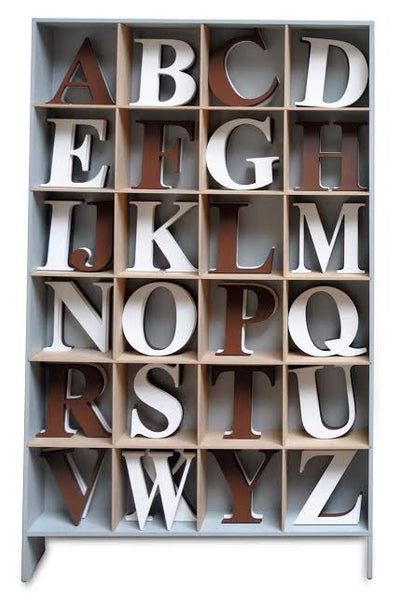 Capital Wall Hanging Wood Letters, home decor, kids room