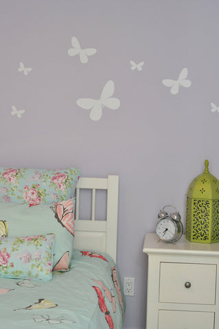 Butterfly Wall Decal Stickers, girl room decor | Homeworks Etc Kids