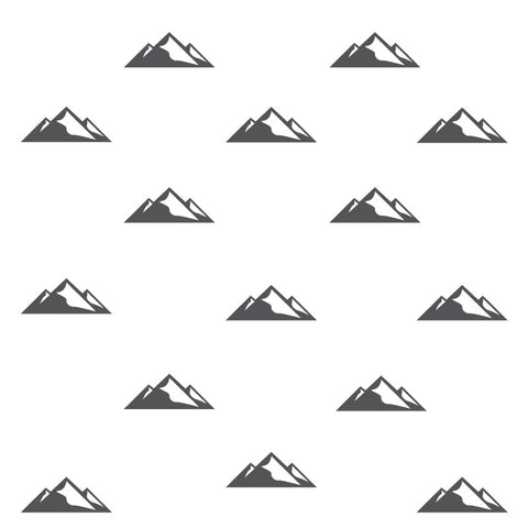 Mountain Peak Wall Decals Modern Decor for Kids by Homeworks Etc