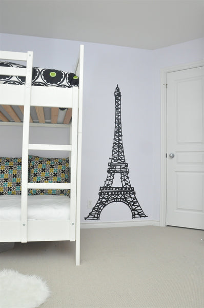 Paris Eiffel Tower Wall Decal, home decor