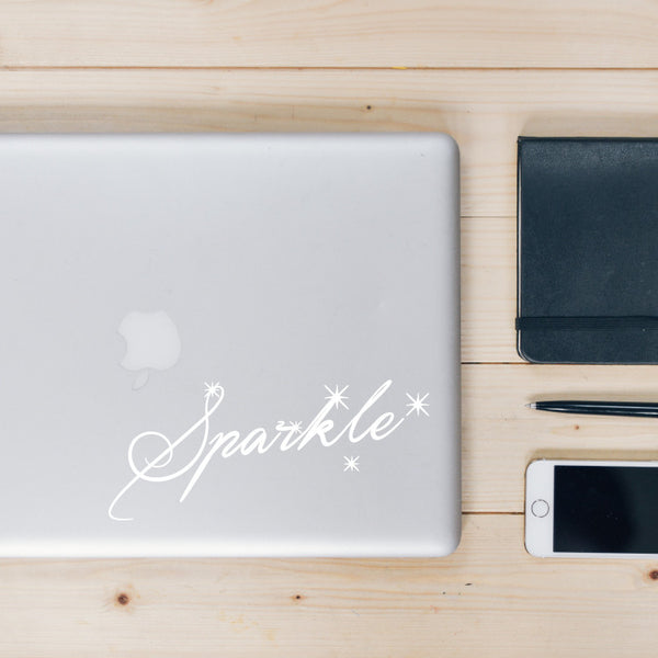 Sparkle Decal - The Sparkle Project BC - inspiring young girls