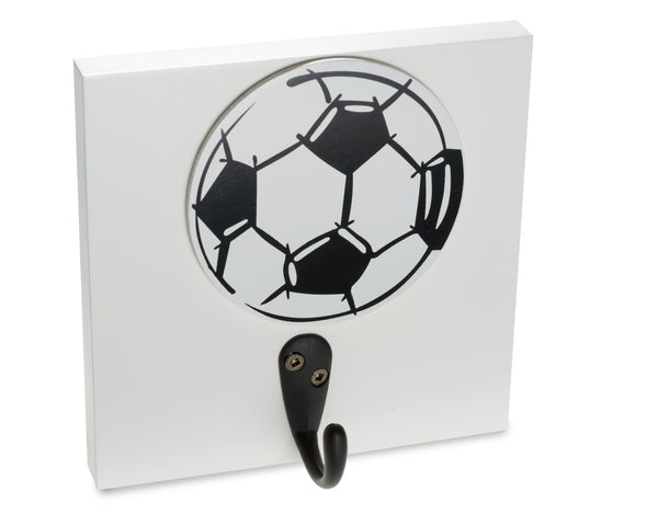 Soccerball Kids Room Wall Hook