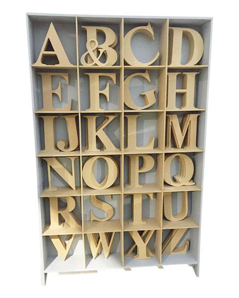 Homeworks Etc Unpainted Wood Letters | Nursery and Kids Room Decor DIY