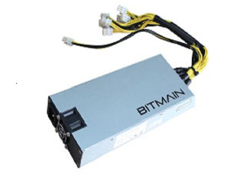 1600w PSU (205V+ AC ONLY) BITMAIN AntMiner APW3++-12-1600W PSU (New APW3++ PLUS) *Shipping in November*