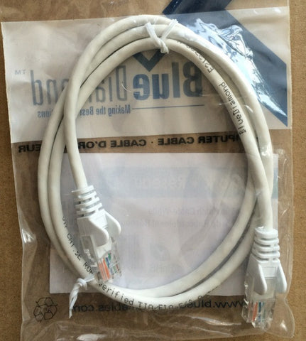 Ethernet Patch Cable CAT 5e - Various lengths and colors