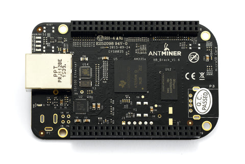 BeagleBone (BB) board for AntMiner S4, S4+, S5, S5+, S7 Models - (NEW)