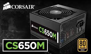 CORSAIR CSM Series CS650M 650W ATX12V 80 PLUS GOLD Certified PSU *Refurbished*