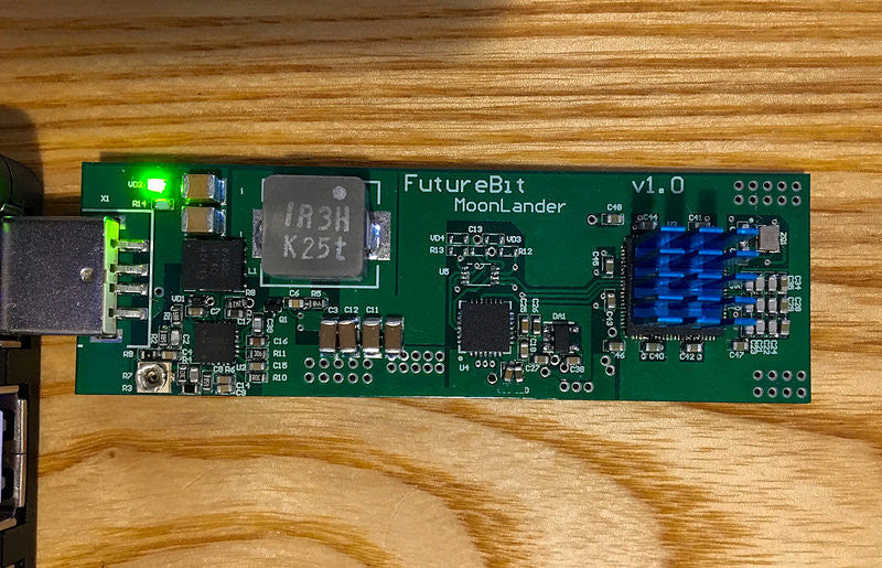 FutureBit MoonLander 400 KH/s - 1.2 MH/s USB Scrypt Miner