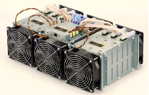 AntMiner S5+ (Plus) - World's Fastest BTC Miner 7.7 TH/s @3436W - *Limited Quantity*