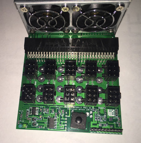 Custom Adapter Board (10x PCI-E) for HP Server PSU DPS-800/1200 *Pre-Order/Coming Soon*