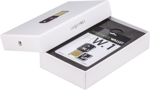 Ledger HW1 Multisig (3-pack) Secure Hardware Bitcoin/Altcoin Wallet