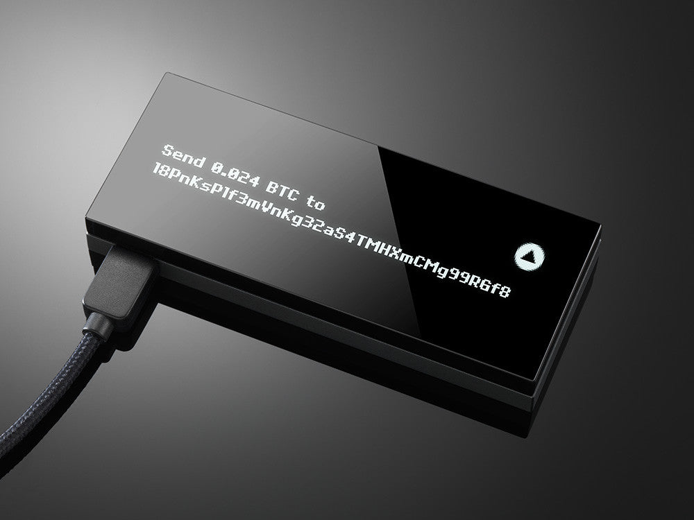 KeepKey Hardware Bitcoin Wallet - Secure BTC Wallet (Back-Order)