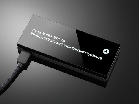 KeepKey Hardware Bitcoin Wallet - Secure BTC Wallet (Back-order/Shipping end of March)