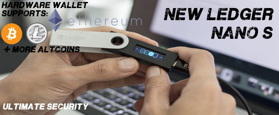 Ledger Nano Hardware Wallet