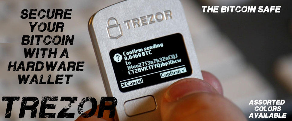 Trezor Hardware Bitcoin Safe