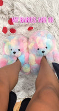 Load and play video in Gallery viewer, Teddy Bear Slippers🧸