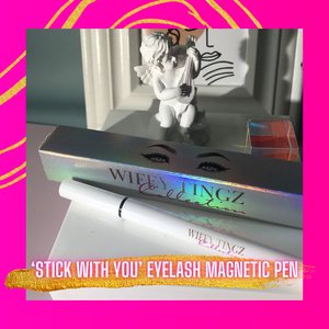 'Stick With You' Eyelash Magnetic Pen