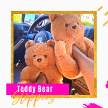 Load image into Gallery viewer, Teddy Bear Slippers🧸
