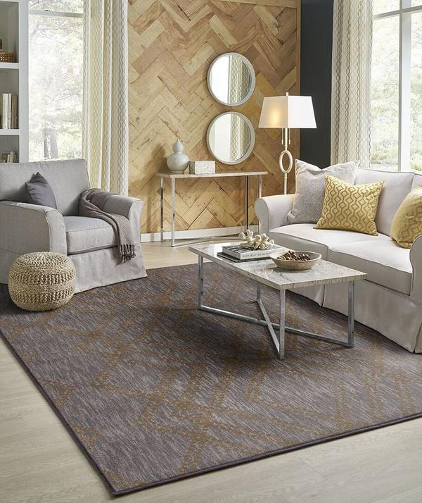Karastan Rugs Cosmopolitan French Affair Smokey Grey by Patina Vie