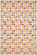 "HAL-05 IVORY / SUNSET 1'-6"" x 1'-6"" Sample Swatch"