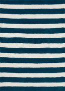 "LL-01 NAVY / WHITE 3'-0"" x 5'-0"""
